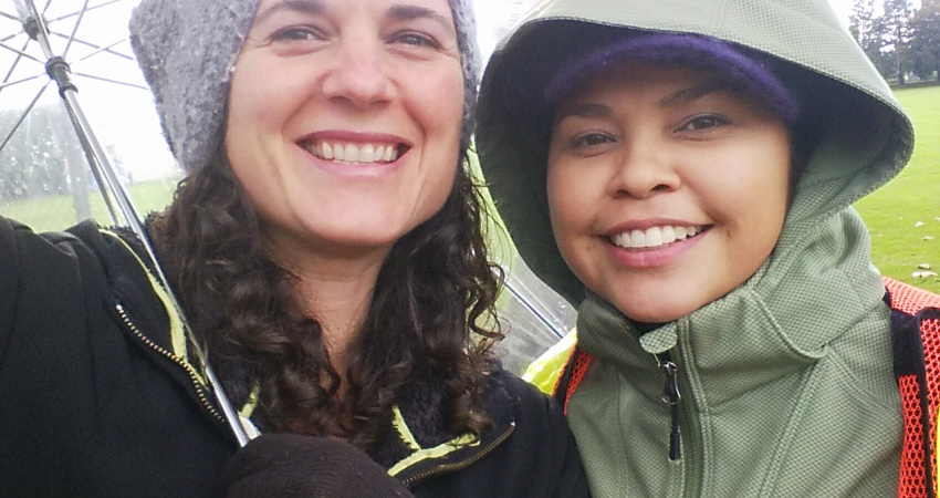 JBCS supervisors out in the wet weather :)