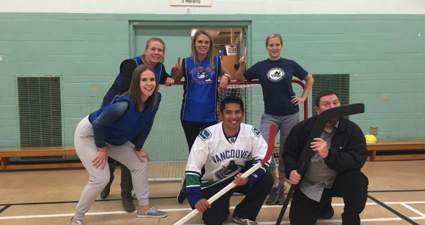 Staff vs Students Hockey Game