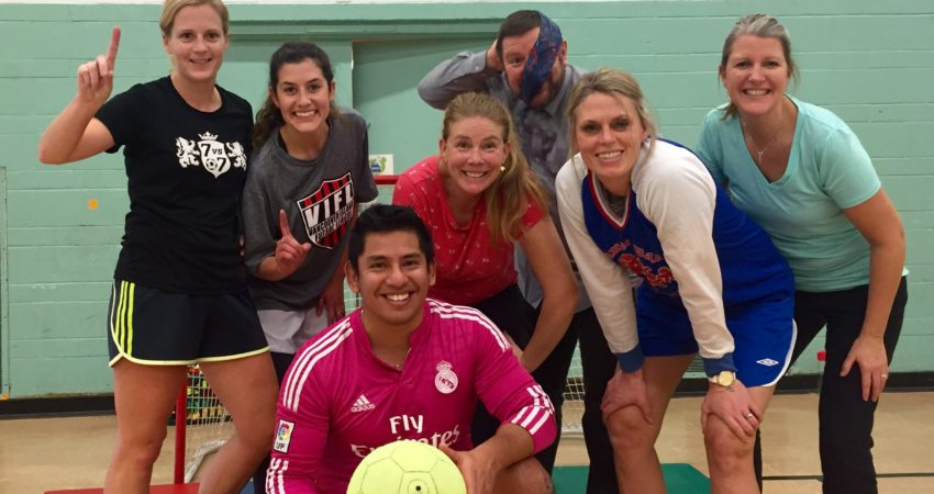 Staff vs Students Soccer Game!