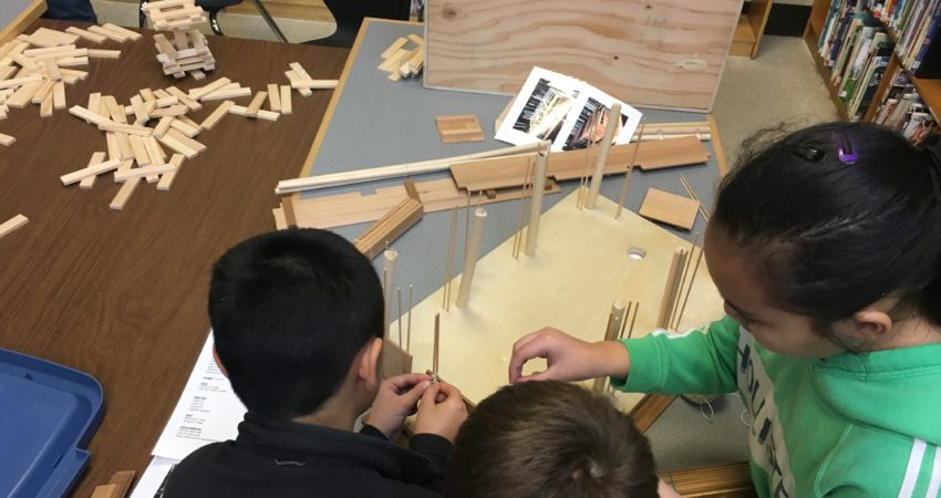 Building a longhouse in our Think Tank